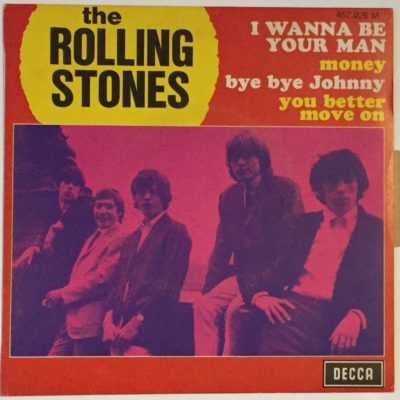 The Rolling Stones – Original EP 45 Tours  » I Wanna be your man  » 1970