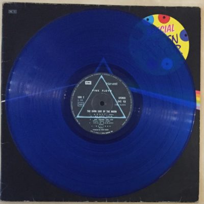 The Pink Floyd – LP 12″ Edition couleur Dc 13 « Dark Side Of The Moon «