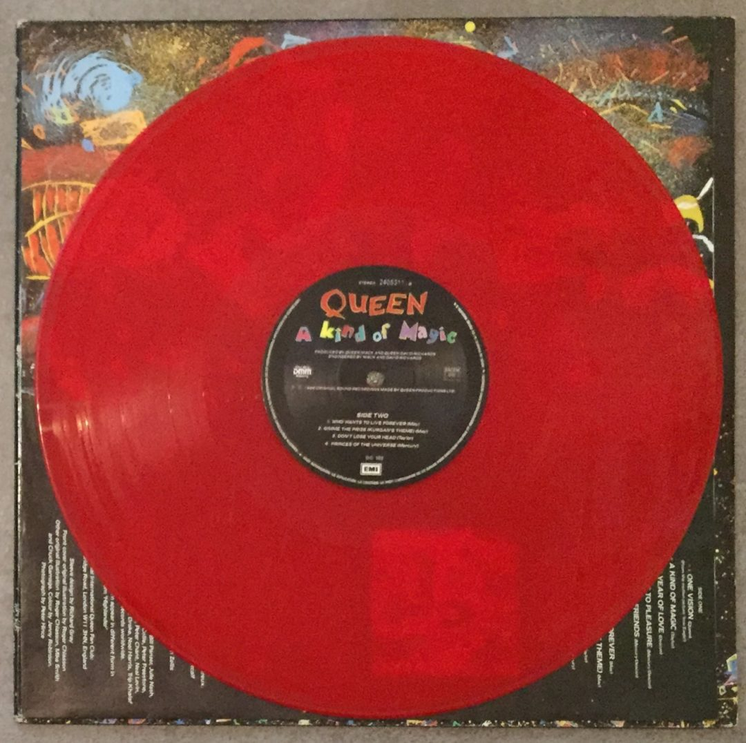 Queen – A Kind Of Magic LP 12″ DC 102 Edition Couleur 1986