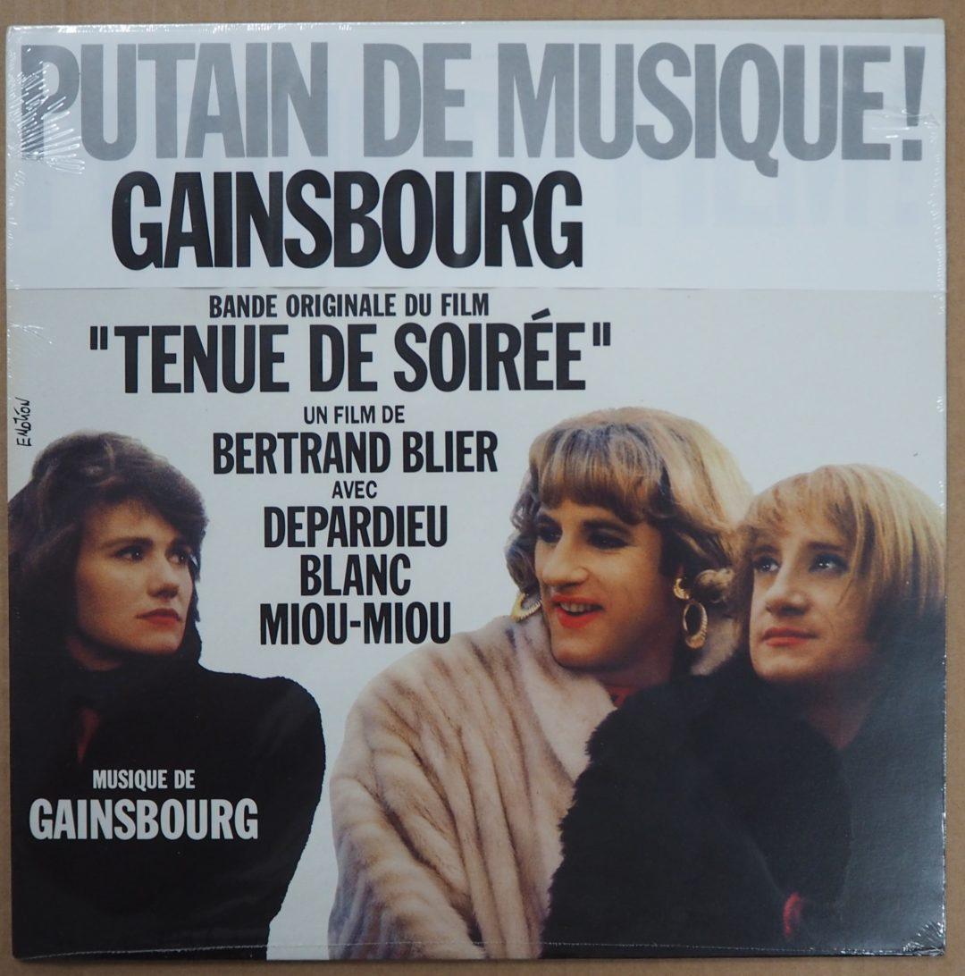 Serge Gainsbourg – Ost Bof LP 33Tours » Tenue de soirée » Neuf scéllée 1986