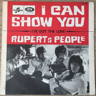 Rupert's People ‎SP 45T FRANCE I Can Show You / I've Got The Love