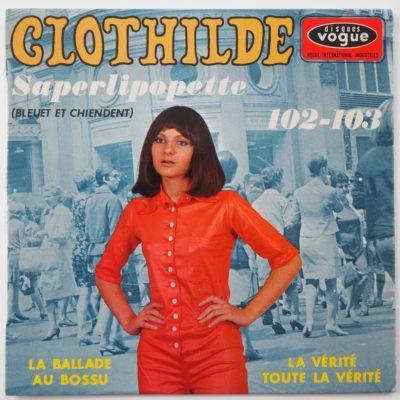 Clothilde – EP FRANCE Vogue EPL 8567 – Saperlipopette