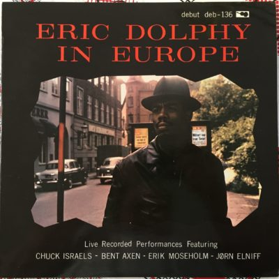 Eric Dolphy Original LP 12″ Eric Dolphy in Europe 1962 Danemark