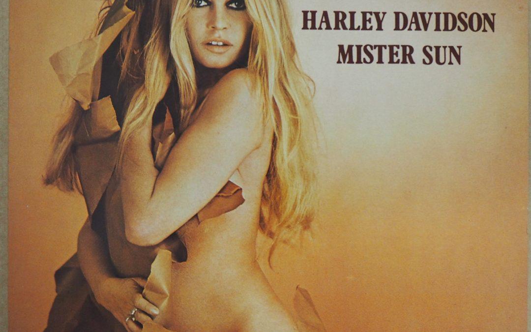 Brigitte Bardot – French LP 33Tours » Harley Davidson » 1980 Serge Gainsbourg