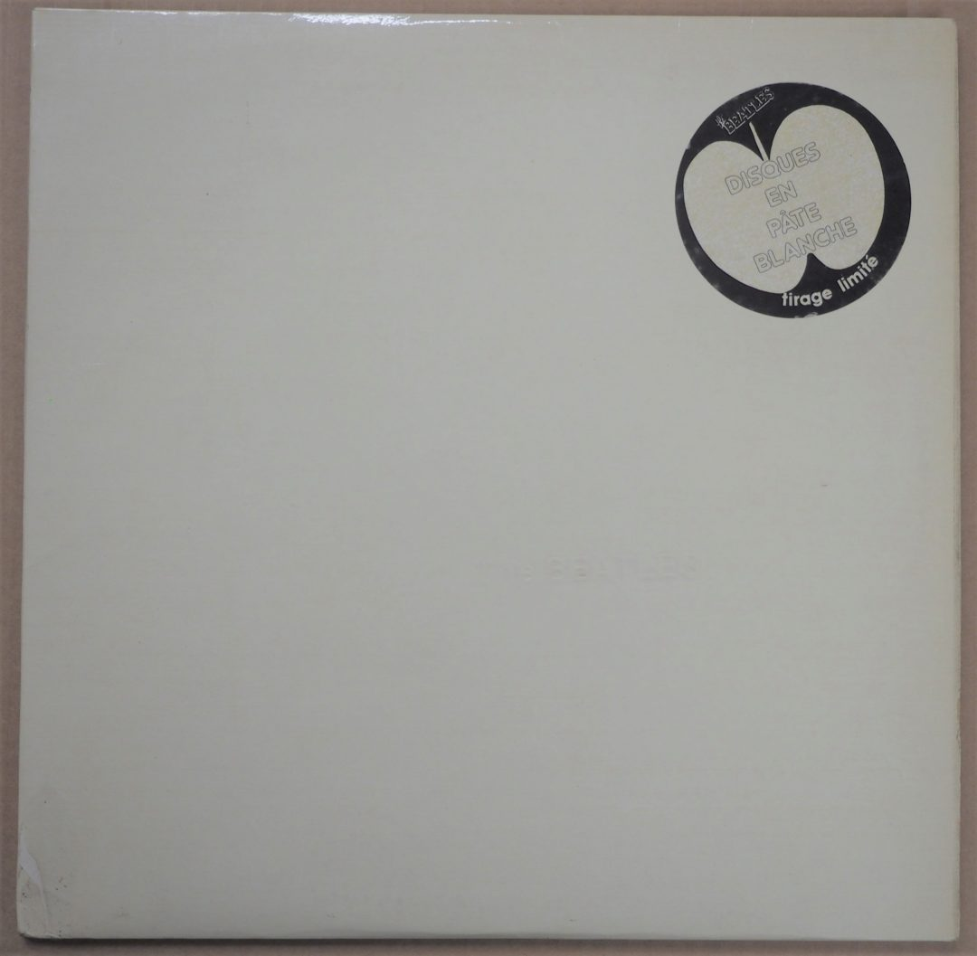 The Beatles – French LP 33 Tours » White Album » Pate Blanche 1978